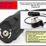 Manual Incremental Ride Height Adjuster