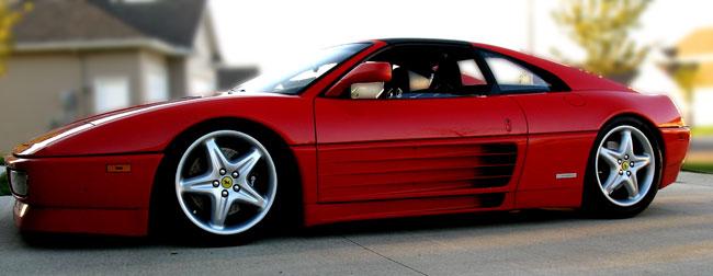 Ferrari 348 Sport Suspension upgrade your shocks