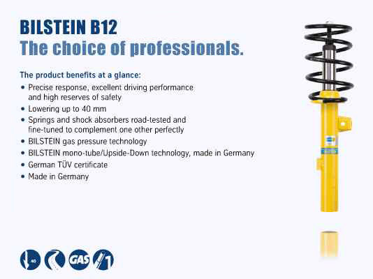 BMW 128i  2010 Bilstein B12 (Pro-Kit) 46-180520