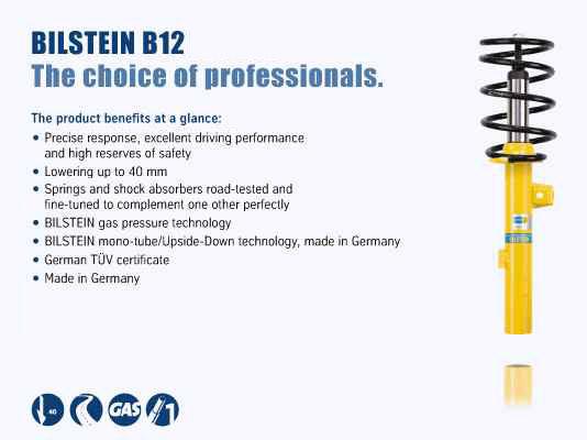 BMW 128i  2008 Bilstein B12 (Pro-Kit) 46-180520